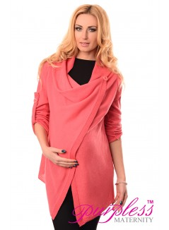 Pregnancy and Nursing Cardigan 9005 Raspberry