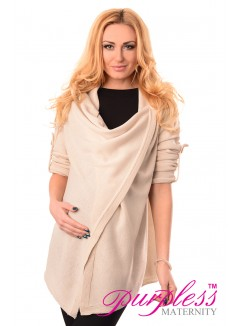 Pregnancy and Nursing Cardigan 9005 Cream