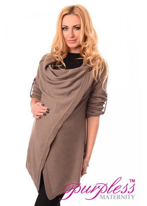 Pregnancy and Nursing Cardigan 9005 Beige