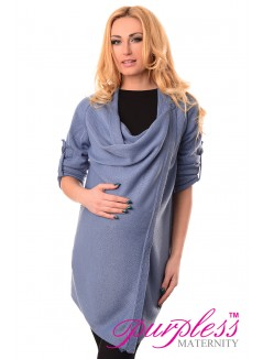 Pregnancy and Nursing Cardigan 9005 Blue Jeans