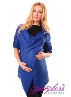 Pregnancy and Nursing Cardigan 9005 Royal Blue