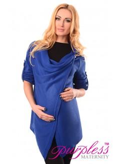 Pregnancy and Nursing Cardigan 9005 Royal Blue