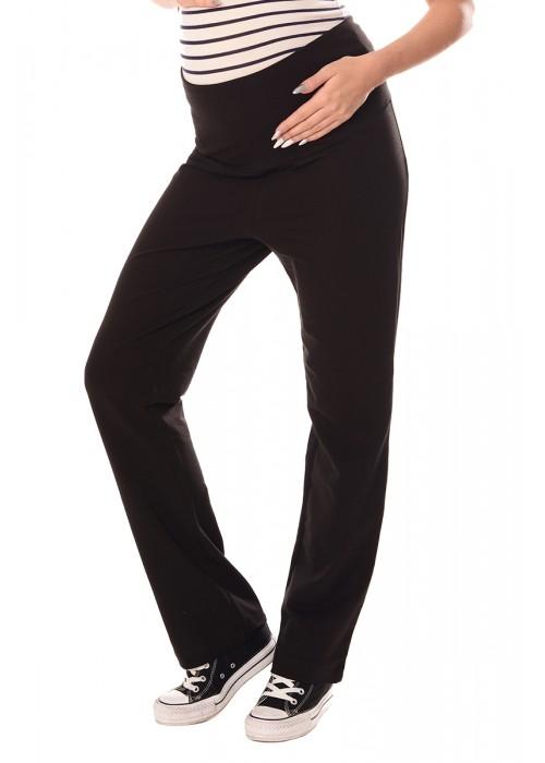 Wide Leg Pregnancy Yoga Lounge Trousers 1300 Black