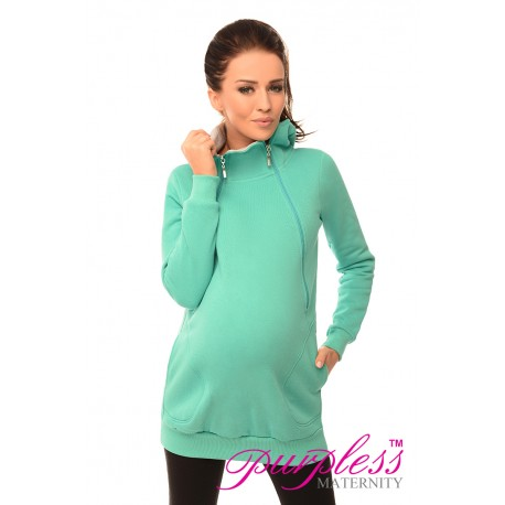 Pregnancy and Nursing Hoodie 9052 Mint