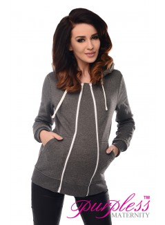 3in1 Removable Insert Sweatshirt 9053 Dark Gray