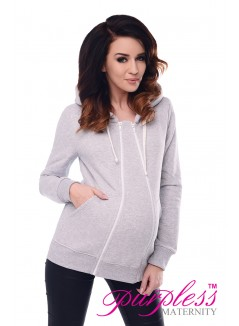 3in1 Removable Insert Sweatshirt 9053 Light Gray