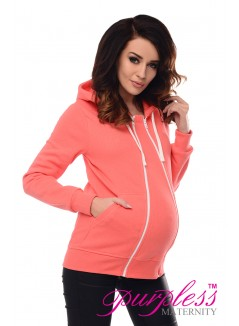 3in1 Removable Insert Sweatshirt 9053 Coral