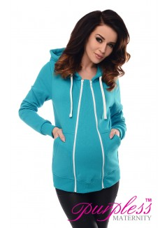 3in1 Removable Insert Sweatshirt 9053 Turquoise