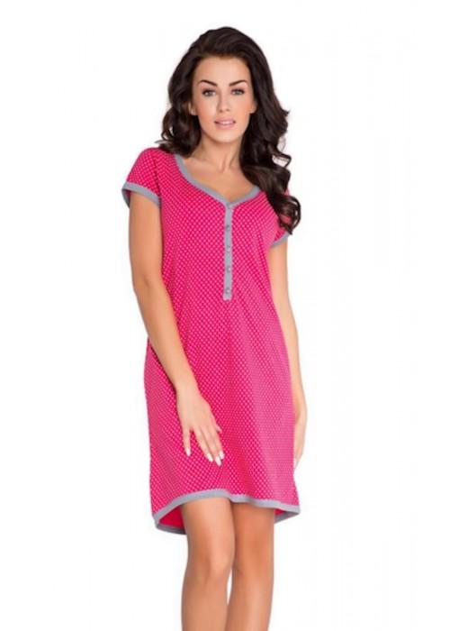 Nursing Purpless Maternity 2in1 Cotton Star Print Pregnancy And Nursing Nightdress 5038n