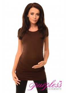 Top T-Shirt 5010 Brown