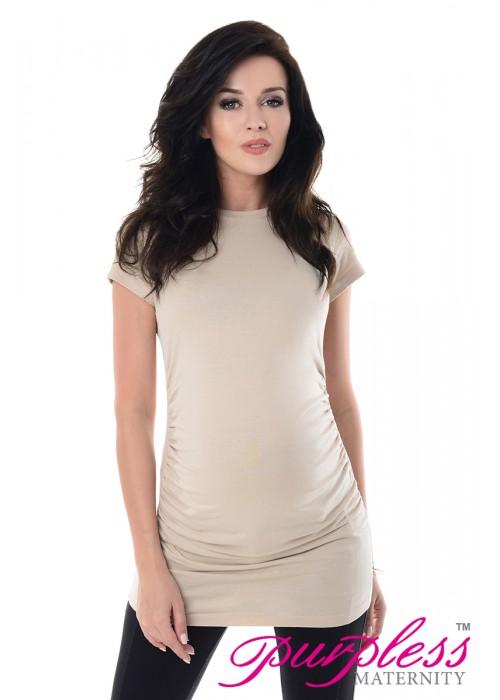 Pregnancy T-Shirt 5025 Beige