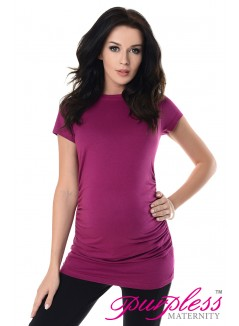Pregnancy T-Shirt 5025 Dark Pink