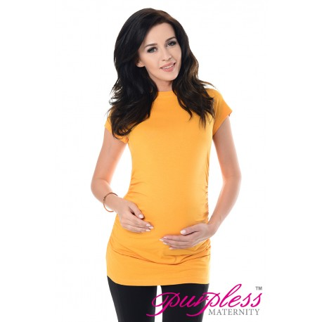 Pregnancy T-Shirt 5025 Dark Yellow