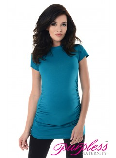 Pregnancy T-Shirt 5025 Dark Turquoise