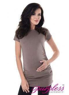 Pregnancy T-Shirt 5025 Cappuccino
