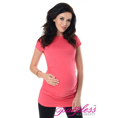 Pregnancy T-Shirt 5025 Raspberry