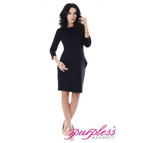 Dress with Pockets 6107 Black