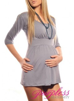 Tunic Scoop Neck 5006 Gray