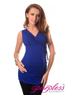 V Neck Top 5104 Royal Blue