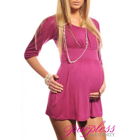 Tunic Scoop Neck 5006 Dark Pink