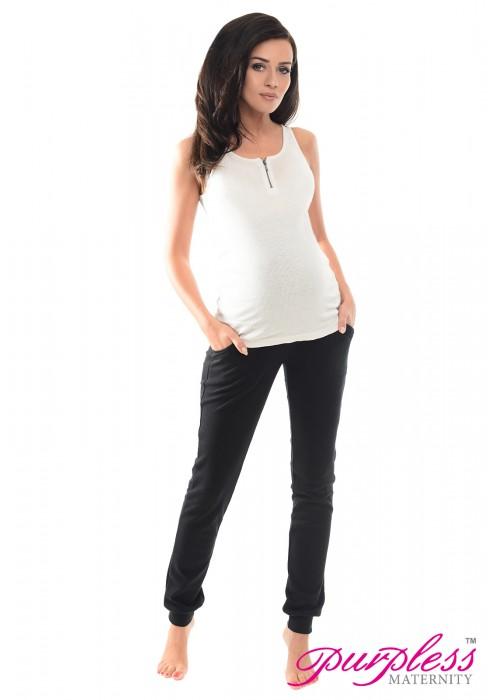 Pregnancy Trousers 1307 Black
