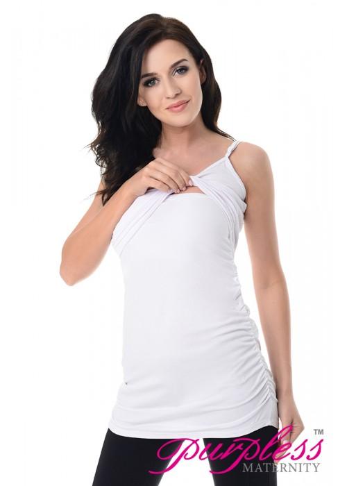 Nursing Cami Vest Top 8021 White