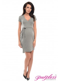 Cocktail Dress 5416 Dark Gray Melange