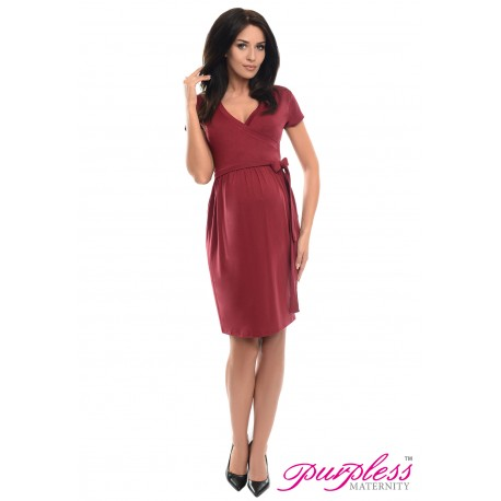 Cocktail Dress 5416 Burgundy