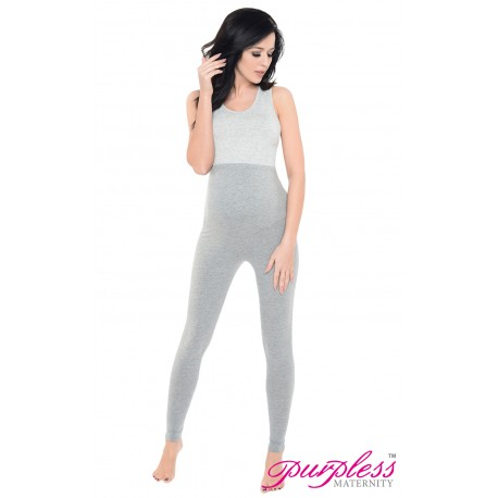 Pregnancy Leggings 1025 Gray1 Melange