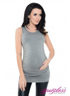 Vest Top 5071 Dark Gray Melange
