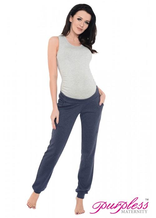 Pregnancy Trousers 1314 Navy Melange