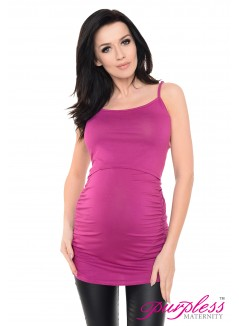 Nursing Cami Vest Top 8021 Dark Pink