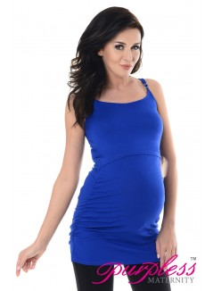 Nursing Cami Vest Top 8021 Royal Blue