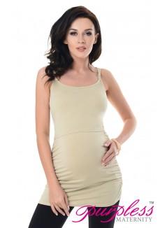 Nursing Cami Vest Top 8021 Beige