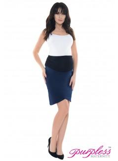 Formal Tulip Skirt 1512 Navy