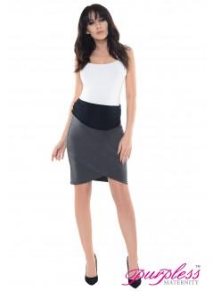 Formal Tulip Skirt 1512 Dark Gray