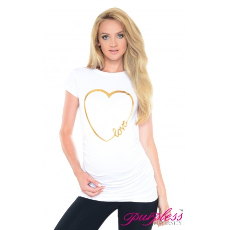 Love Heart Top 2011 White