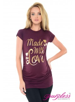 Made with Love Top 2015 Plum
