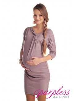Batwing Dress 6407 Cappuccino