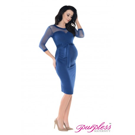 Heart Shaped Cleavage Pregnancy Dress D012 Jeans