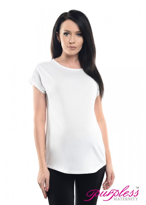 Boyfriend Fit Tee 2200 White