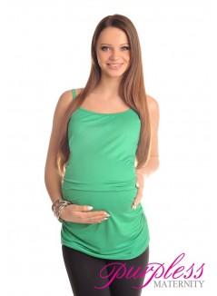 Spaghetti Strap Top Camisole Vest 8010 Green