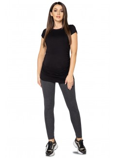 Pregnancy Leggings 1025 Graphite Melange