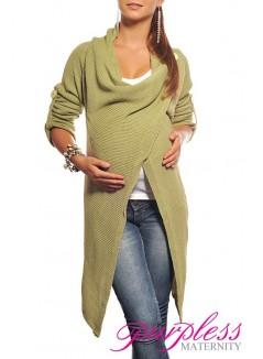 Maternity Cardigan 9001 Pistachio