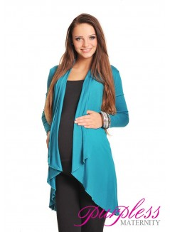 Waterfall Cardigan 4008 Dark Turquoise