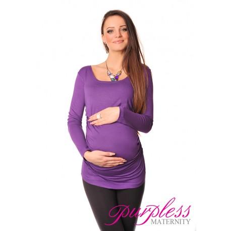 Long Sleeve Top 8041 Violet