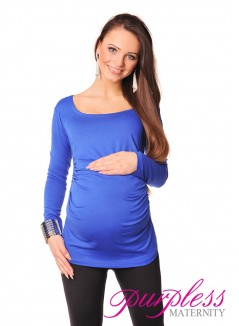 Long Sleeve Top 8041 Royal Blue