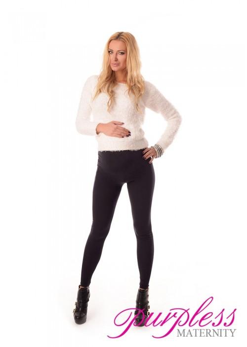 Stretchy Maternity Leggings 1000 Black