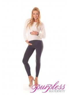Stretchy Maternity Leggings 1000 Graphite