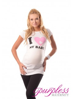 Love Baby Top 2005 White